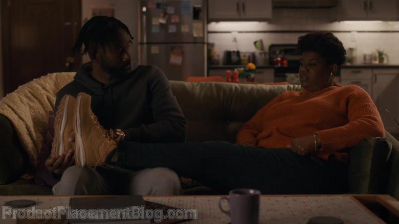 Nike Women's Boots of Adrienne C. Moore as Kelly Duff in Pretty Hard Cases S01E02 Dealz (2021)