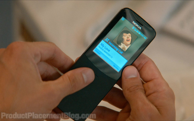 Nokia 8110 4G Black Mobile Phone of Jamie Dornan as Edgar Paget in Barb and Star Go to Vista Del Mar (1)