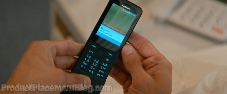 Nokia 8110 4G Black Mobile Phone of Jamie Dornan as Edgar Paget in Barb and Star Go to Vista Del Mar (2)