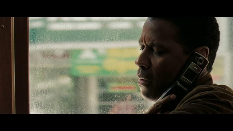 Nokia Flip Mobile Phone Used by Denzel Washington as ATF Special Agent Douglas Carlin in Deja Vu (2006)