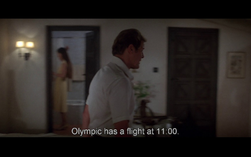 Olympic Air Airline in For Your Eyes Only (1981)