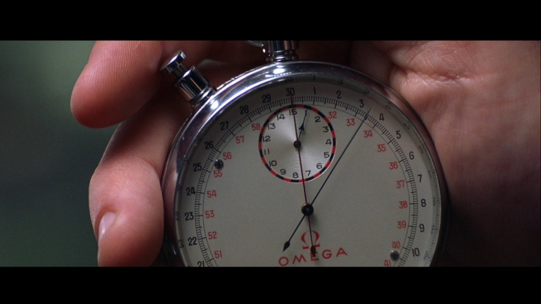 Omega stopwatch in Die Another Day (2002)