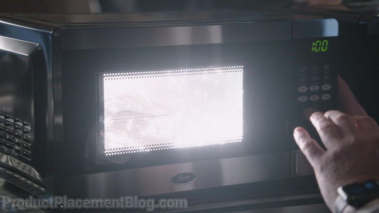 Oster Microwave Oven in The Blacklist S08E06 The Wellstone Agency (2021)