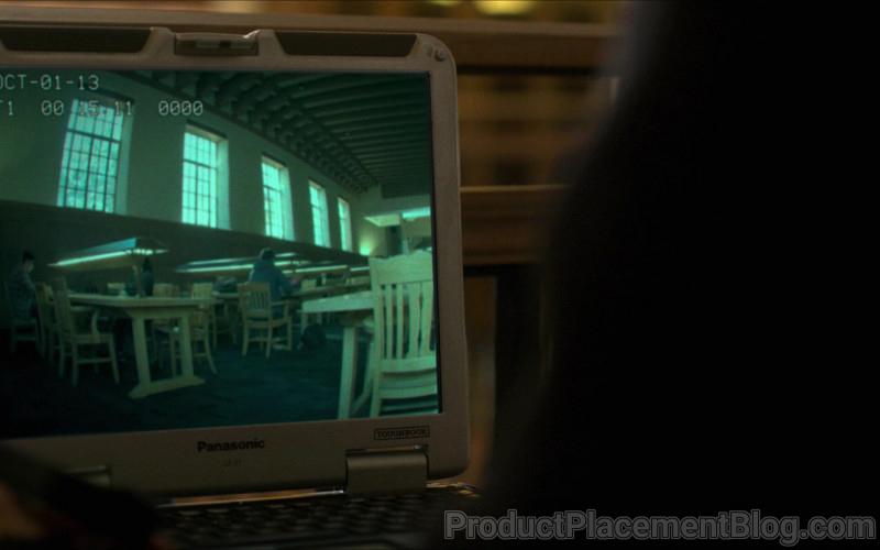 Panasonic Toughbook CF-31 Laptop of Jimmi Simpson as Chris Talbert in Silk Road (2021)