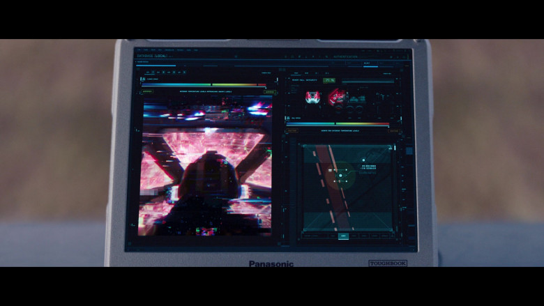 Panasonic Toughbook Laptop in WandaVision S01E07 Breaking the Fourth Wall (2)