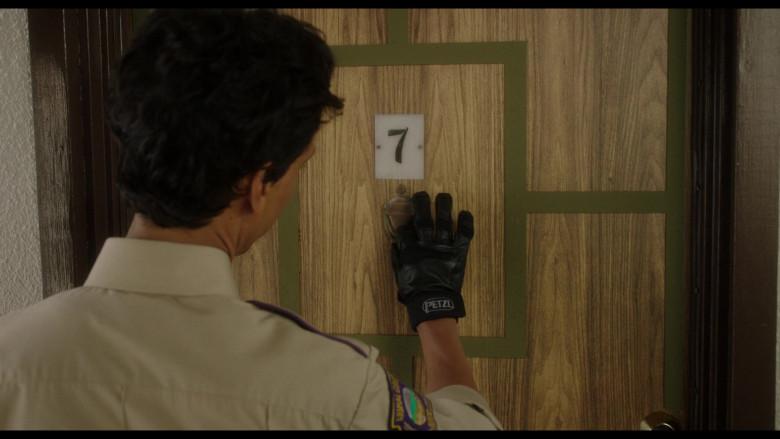 Petzl Gloves of Danny Pudi as Miller in Flora & Ulysses (1)