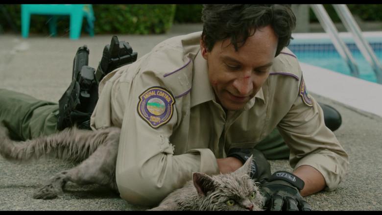 Petzl Gloves of Danny Pudi as Miller in Flora & Ulysses (2)