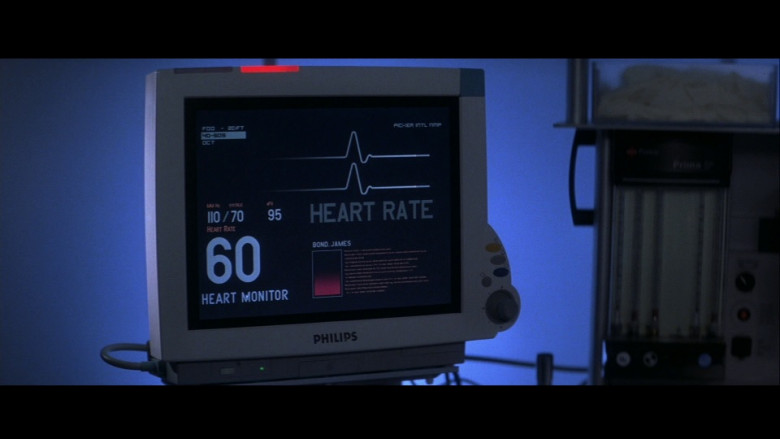 Philips medical monitor in Die Another Day (2002)