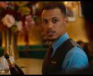 Piper-Heidsieck Champagne Held by Jordan Bolger as Cameron i...