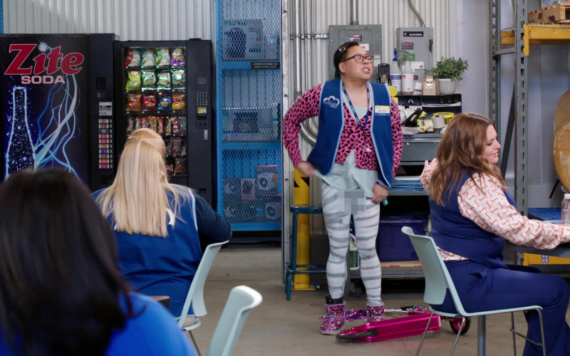 Popchips, Lay's, Herr's, Fritos, M&M's in Superstore S06E08 Ground Rules (2021)