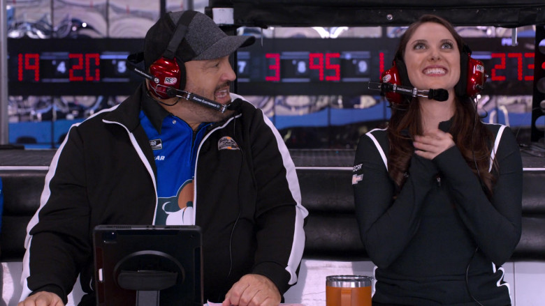 Racing Electronics Headsets Used by Kevin James as Kevin Gibson & Jillian Mueller as Catherine Spencer
