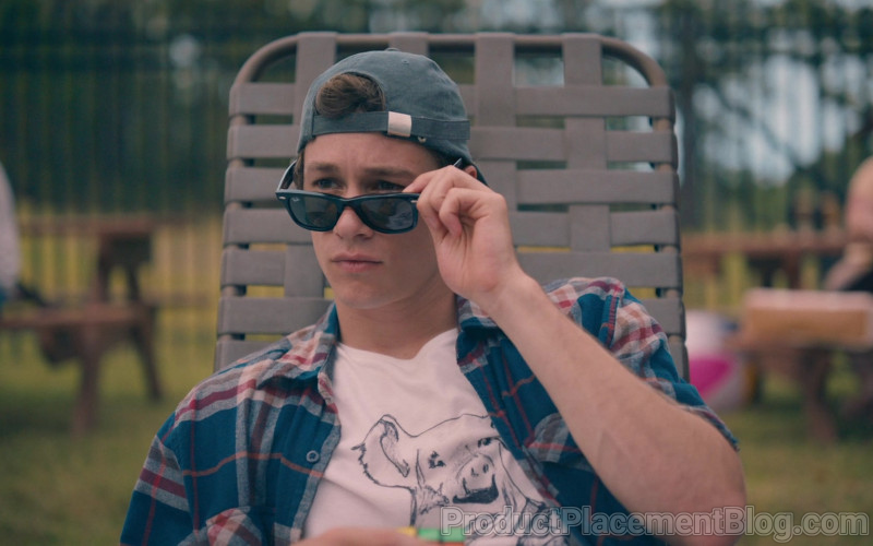 Ray-Ban Wayfarer Sunglasses Worn by Kyle Allen as Mark in The Map of Tiny Perfect Things (1)