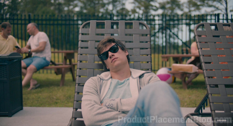 Ray-Ban Wayfarer Sunglasses Worn by Kyle Allen as Mark in The Map of Tiny Perfect Things (3)