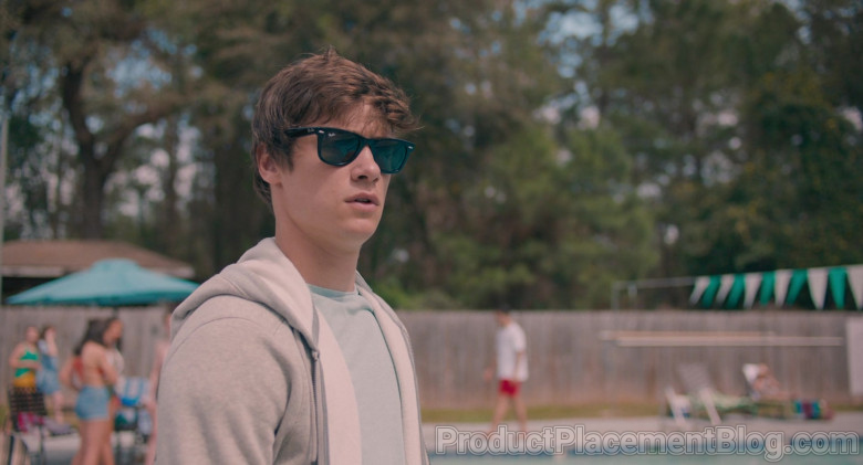 Ray-Ban Wayfarer Sunglasses Worn by Kyle Allen as Mark in The Map of Tiny Perfect Things (4)