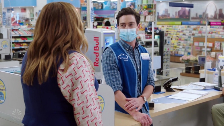 Red Bull Energy Drinks in Superstore S06E08 Ground Rules (2021)