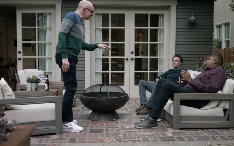 Reebok Men's Sneakers Worn by Rob Corddry as Forrest in The Unicorn S02E10 In Memory Of… (2021)