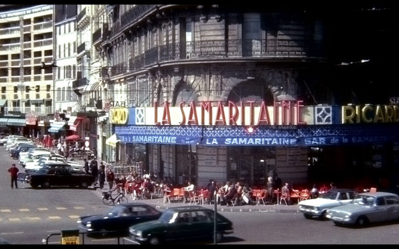 Ricard & La Samaritaine in The French Connection (1971)