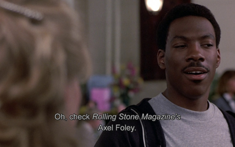 Rolling Stone magazine in Beverly Hills Cop (1984)