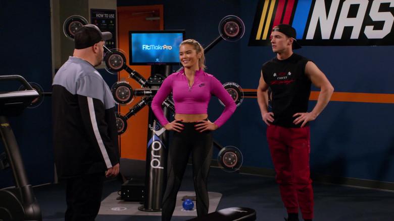 Rugged Interactive CardioWall Pro-X Elite in The Crew S01E05