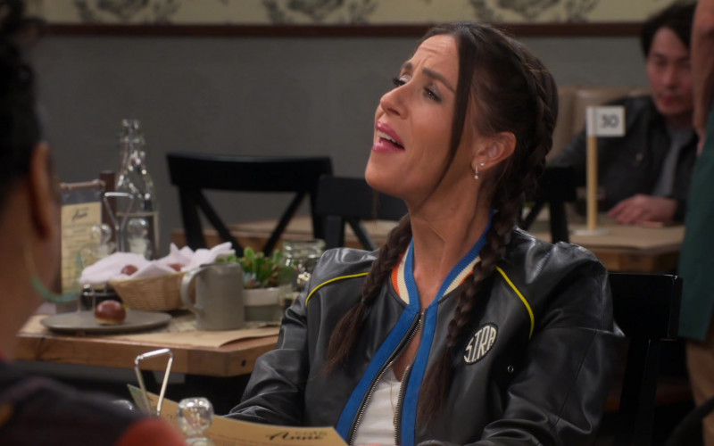 S.T.R.A. Leather Jacket of Soleil Moon Frye in Punky Brewster S01E08 (1)