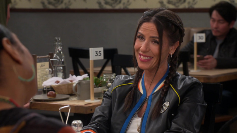 S.T.R.A. Leather Jacket of Soleil Moon Frye in Punky Brewster S01E08 (2)
