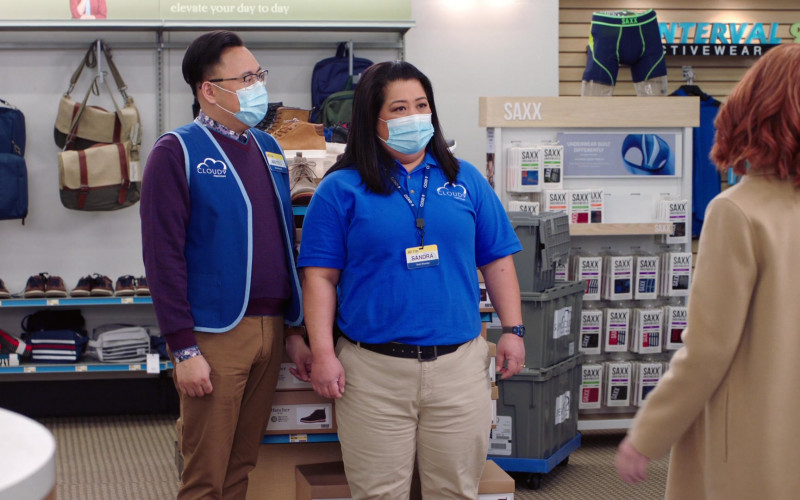 SAXX Underwear in Superstore S06E10 Depositions (2021)