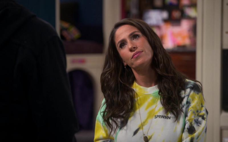 SPRWMN Sweatshirt of Soleil Moon Frye in Punky Brewster S01E06