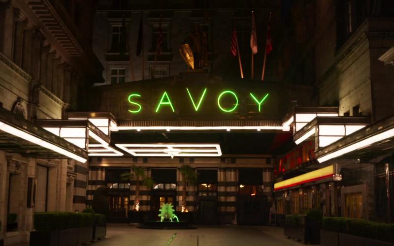 Savoy Hotel in Blithe Spirit (2020)