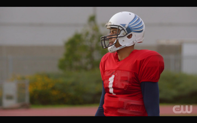 Schutt Football Helmet of Michael Evans Behling as Jordan Baker in All American S03E03 High Expectations (2021)