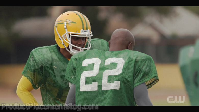 Schutt Football Helmets Worn by Actors in All American S03E05 TV Show (2)