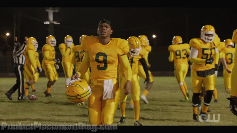 Schutt Football Helmets Worn by Actors in All American S03E05 TV Show (3)