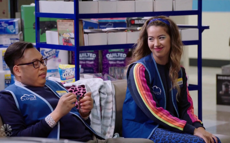 Scott, OxiClean, Quilted Northern in Superstore S06E08 Ground Rules (2021)