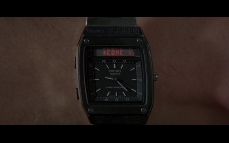 Seiko H357 5040 Duo Display Men's Watch in For Your Eyes Only (1981)