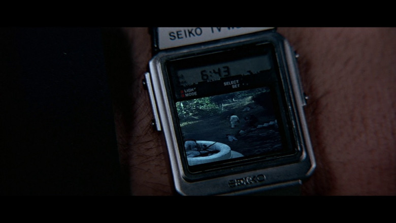 Seiko TV Watch in Octopussy (1983)
