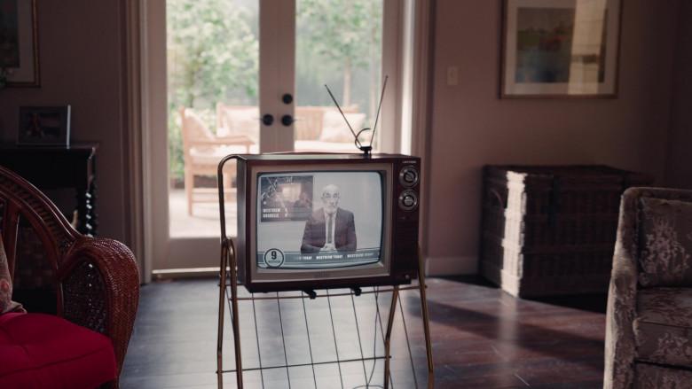 Sharp Linytron Retro TV in WandaVision S01E07