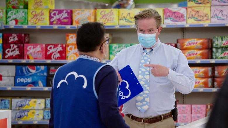 Shasta, Pepsi, Brisk, LaCroix and Mtn Dew Drinks in Superstore S06E08 Ground Rules (2021)