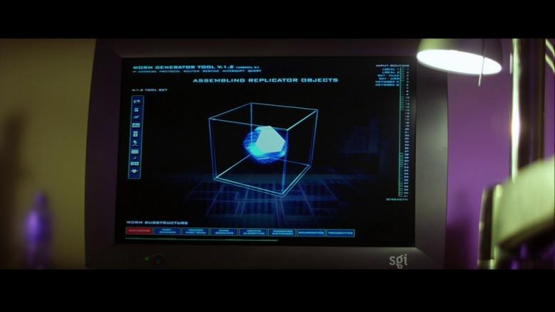 Silicon Graphics SGI Monitor in Swordfish (2001)