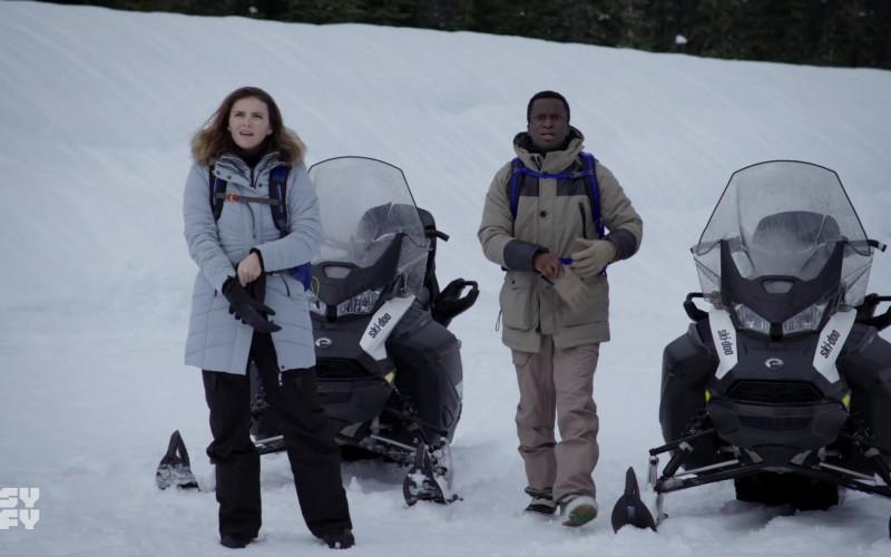 Ski-Doo Snowmobiles in Resident Alien S01E02 Homesick (2021)