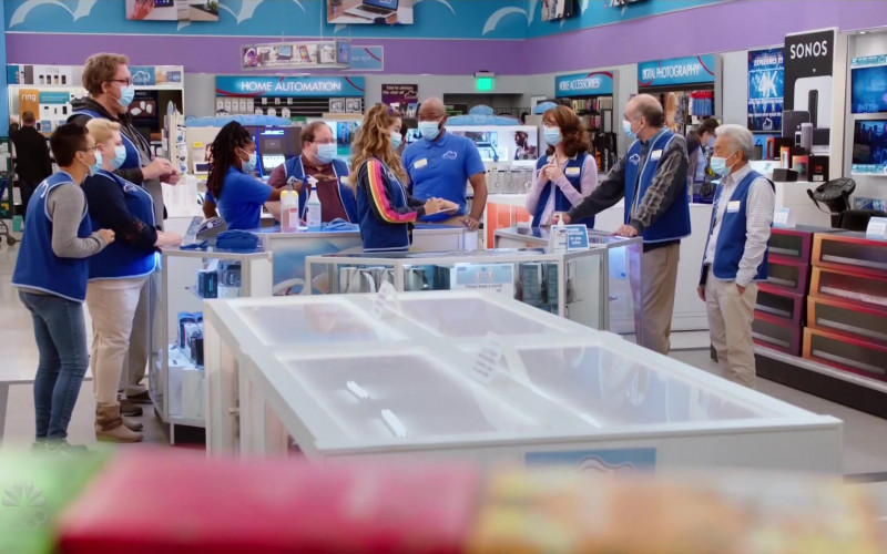 Sonos Wireless Speakers and Home Sound Systems in Superstore S06E08 Ground Rules (2021)