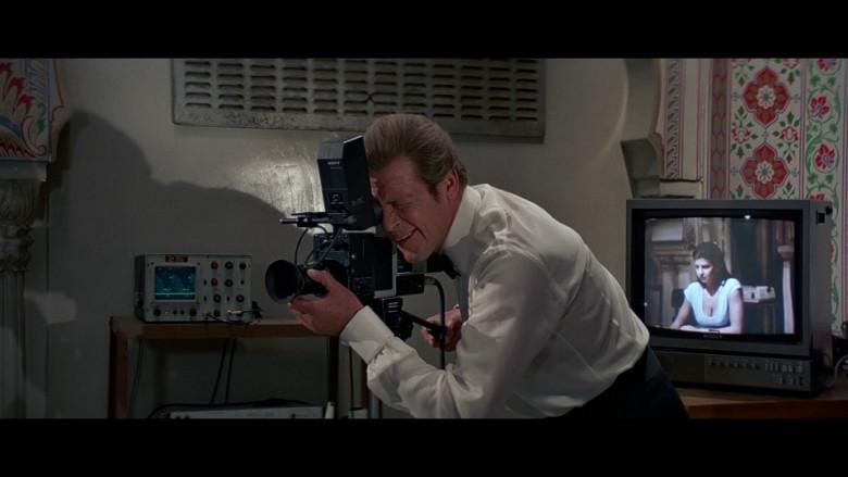 Sony Camera & TV in Octopussy (1983)