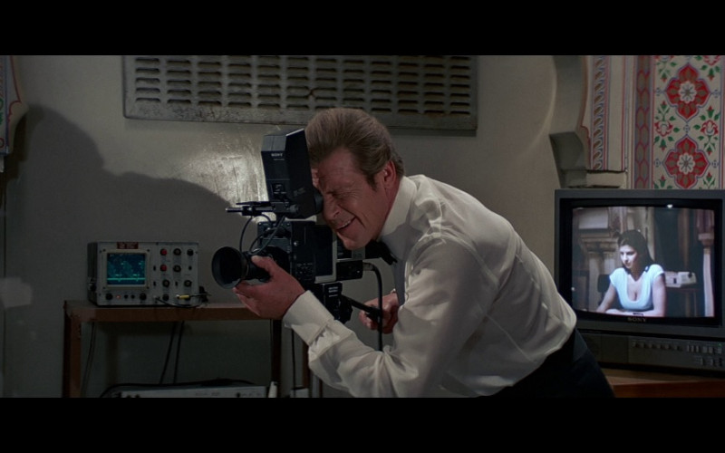 Sony Camera & TV in Octopussy (1983)