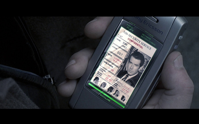 Sony Ericsson Mobile Phone in Die Another Day (2002)