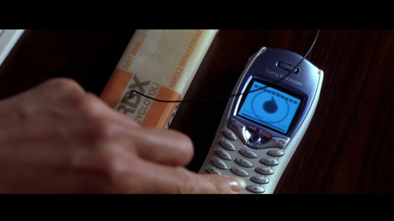 Sony Ericsson T68i Cell Phone in Die Another Day (2002)