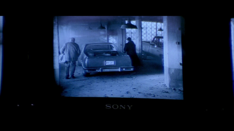 Sony TV-Monitors in Enemy of the State (2)