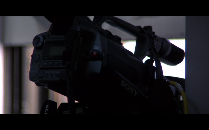 Sony Video Cameras in Enemy of the State (1)