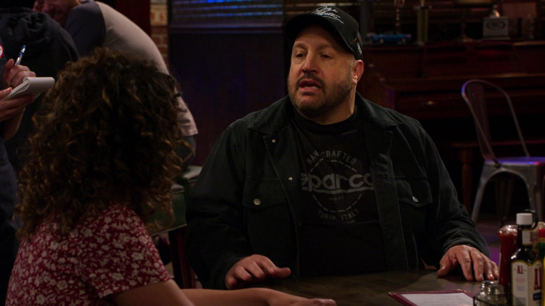 Sparco Men's T-Shirts of Kevin James in The Crew S01E10 (2)