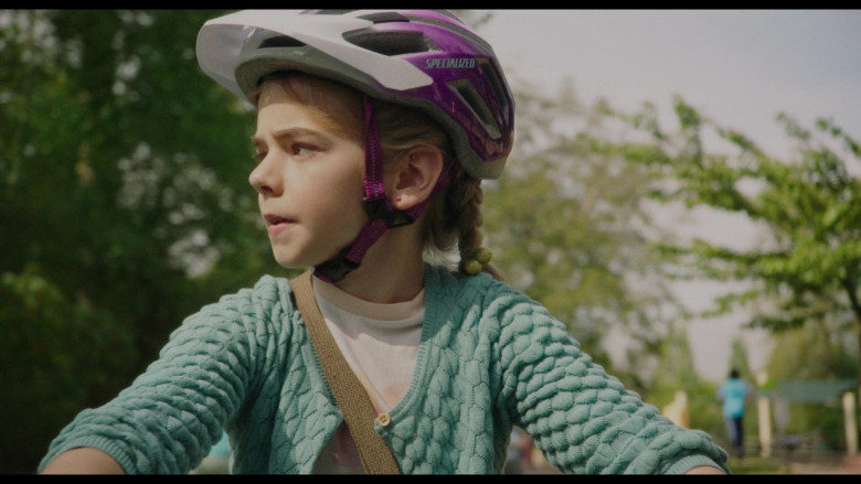 Specialized Bike Helmet of Matilda Lawler in Flora & Ulysses (1)