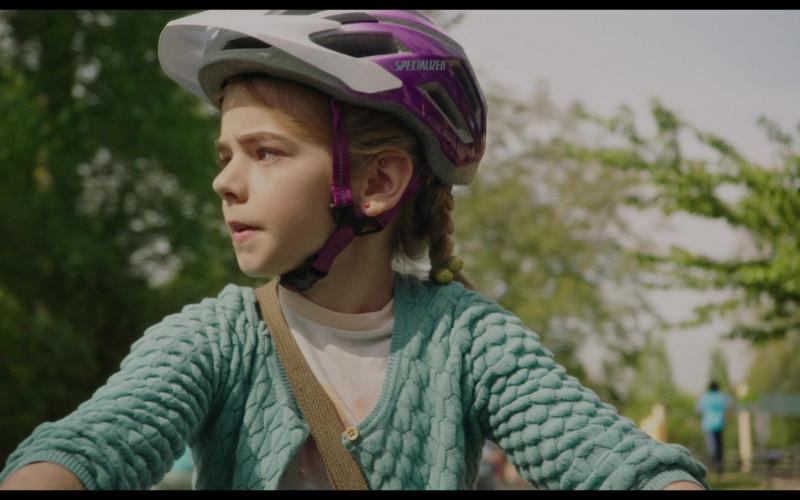 Specialized Bike Helmet of Matilda Lawler in Flora & Ulysses (1)