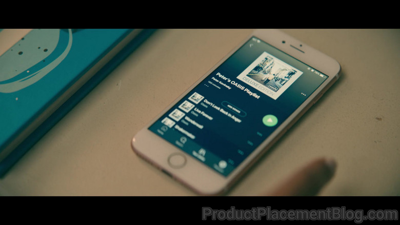 Spotify Music App Used by Lana Condor as Lara Jean 'LJ' Song Covey in To All the Boys Always and Forever (3)