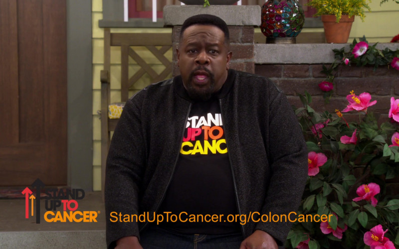 Stand Up To Cancer charitable program of the Entertainment Industry Foundation in The Neighborhood S03E10